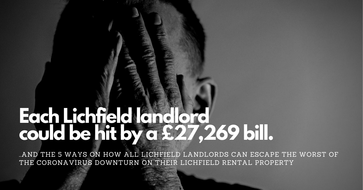 Each Lichfield landlord could be hit by a £27,269 bill